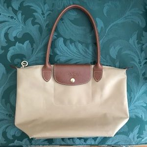 Longchamp Small Tote With Long Handles